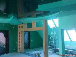 покраска фактурная, покарска рельефная, покраска стен в киеве, покраска потолков (5)