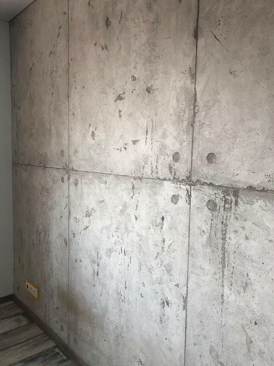виды отделки бетона